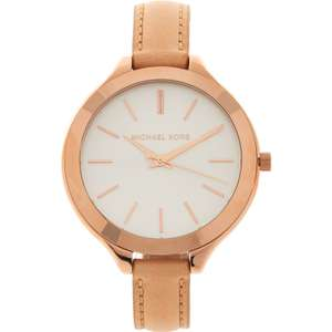 MICHAEL KORS  Blush Pink & Rose Gold Tone Analogue Watch £79.99 delivered @ TK Maxx
