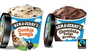 Ben and Jerry's Chocolate [Cookie Dough]- 2x750mL for £5.00 @ Heron Foods