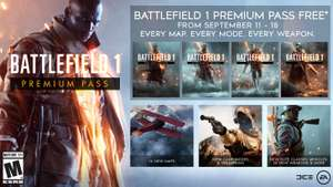[PS4/Xbox One/PC] Battlefield 1 Premium Pass - Free (Now live)