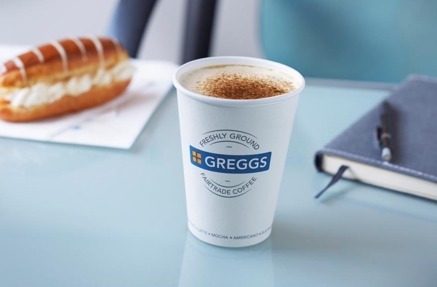 Greggs Free Hot Drink worth £2 via the Greggs App
