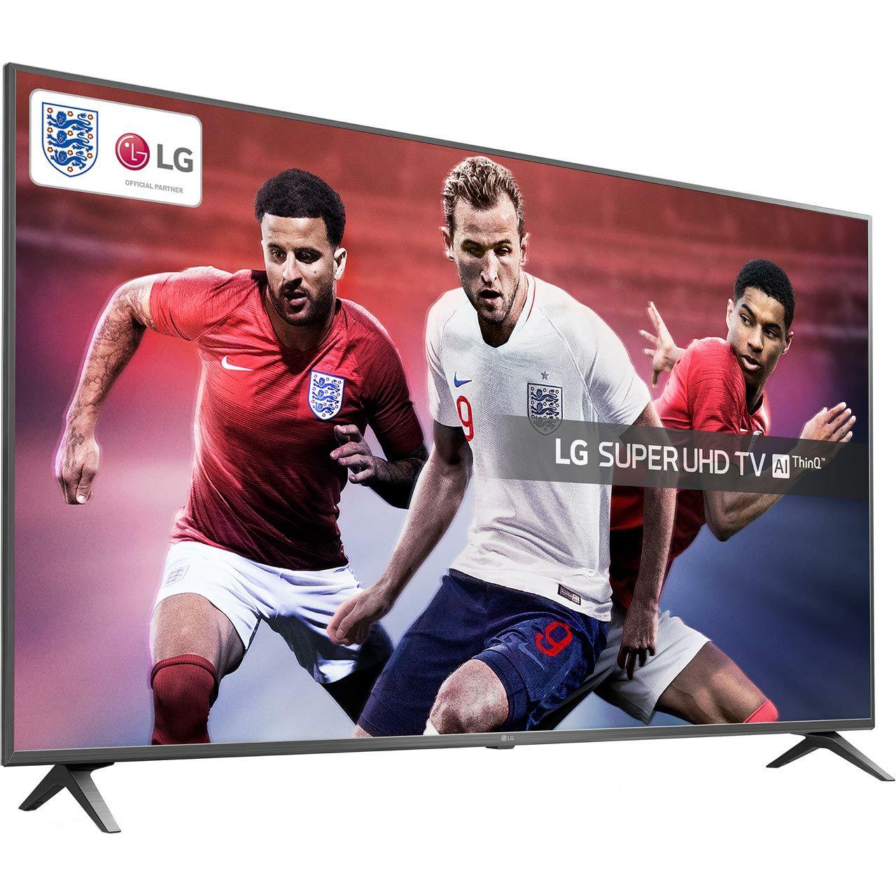 "LG 55SK8000PLB 55"" Smart 4K Ultra HD TV with free LG SK1 Bluetooth soundbar  £799 @ AO"