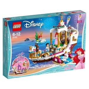 Disney Princess Ariel's Royal Celebration Boat Lego 41153 £29.99 Amazon