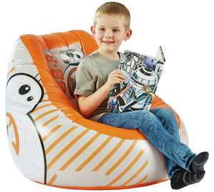 Star Wars BB8 Flocked Chill Chair was £19.99 then £13.99 now £11.99 C+C @ Argos