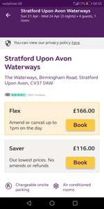 3 nights 2a 2c £116 @ premierinn Stratford upon Avon waterways ( Easter period)