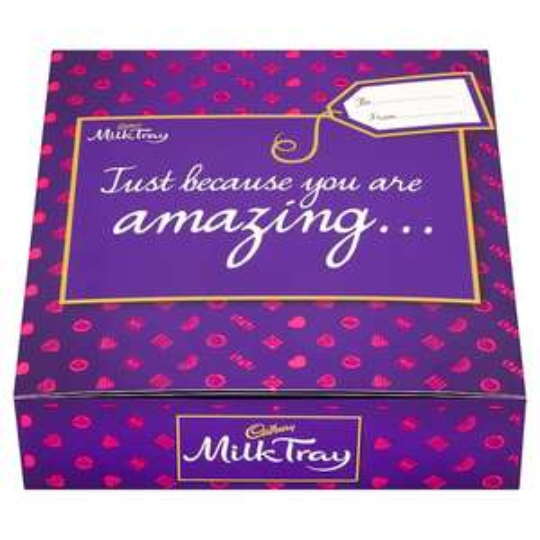 Cadbury Milk Tray Boxed Chocolates 360G HALF PRICE only £3 From 5th Sept @ Tesco