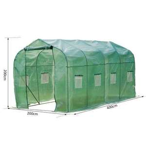 Outsunny Walk in Polytunnel Greenhouse - £59.99 delivered @ aosom