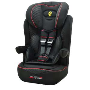 Ferrari I-Max SP Luxe Group Black 1-2-3 Car Seat £52.49 / Ferrari Beline SP Group Red 1 2 3 Car Seat £45.94 delivered @ Dunelm