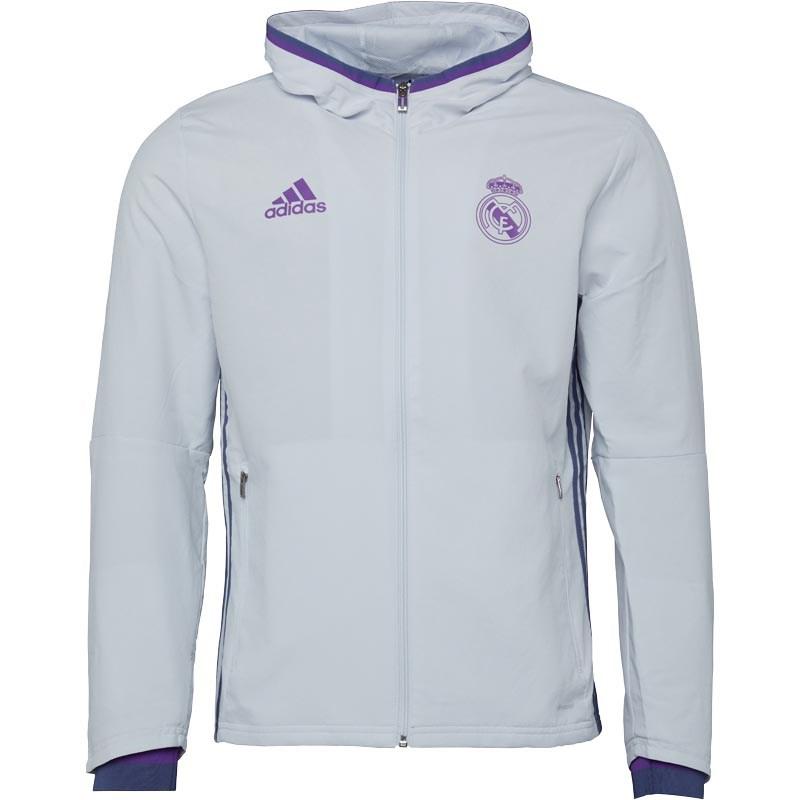 adidas Mens RMCF Real Madrid Presentation Jacket £24.98 Delivered @ MandMDirect