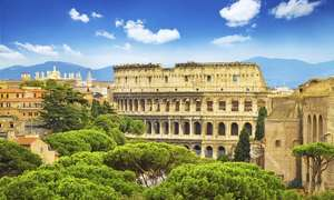 Rome, Florence and Venice: 6 Nights  - Including Hotels / Flights from London / Train Transfers £159 pp w/ code (new account) @ Groupon