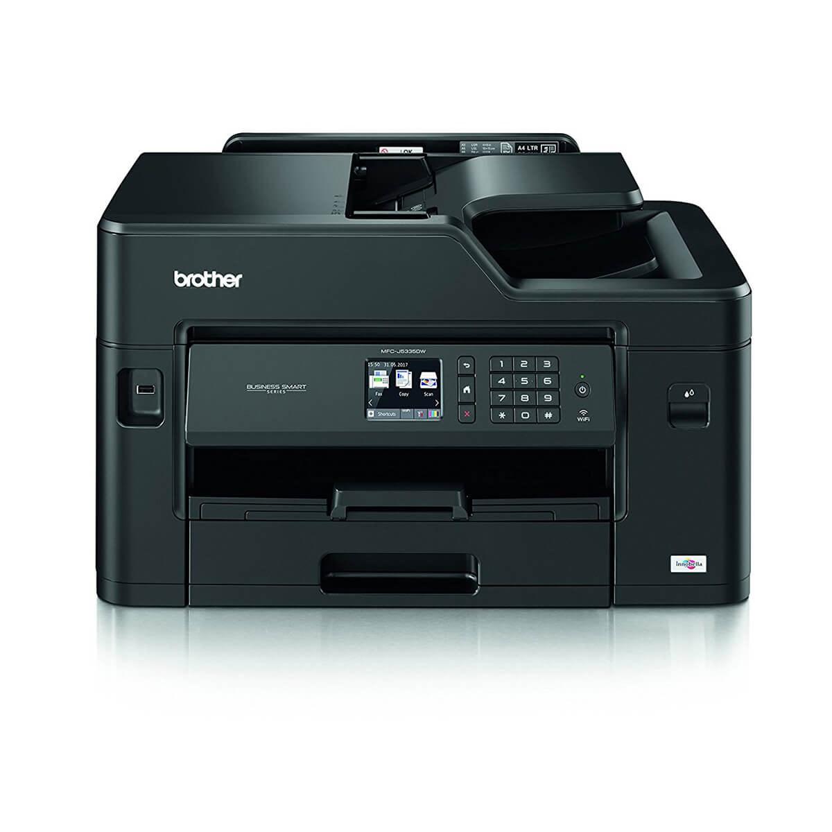 Brother MFC-J5335DW Colour Inkjet Printer £109.99 with promo + £50 cashback (£59.99) @ Office Outlet
