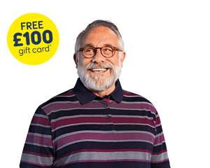Sun life over 50 plan - Premiums from £3.90 p/m - £100 gift card