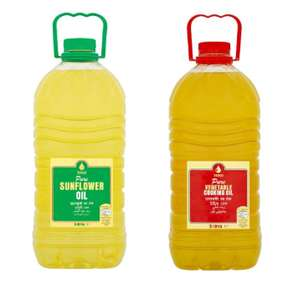Tesco Pure Sunflower / Vegetable Cooking Oil 5 Litre £3.50 @ Tesco