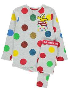 Children in Need Spotty Pudsey Pyjamas £7 @ asda plus other stuff ranging from £3