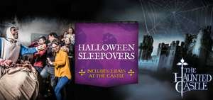 Kids go Free - On Site Stay + Breakfast + 2 days Castle Tickets + Halloween attractions/live shows £280 @ Warwick Castle off site £114