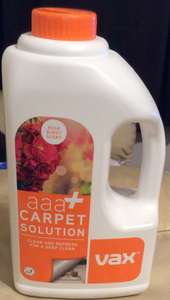 vax carpet cleaner aaa+ 1.5L