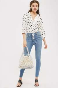 Topshop mid blue Jamie jeans £8 reduced from £42 - Free c&c