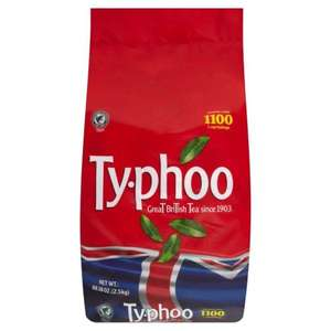 1100 typhoo tea bags at B&M instore - £9.99
