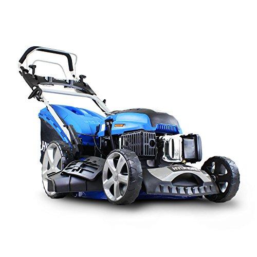 Hyundai HYM510SPE Self Propelled Electric Push Button Start Petrol Lawnmower, now £293.99 at Amazon