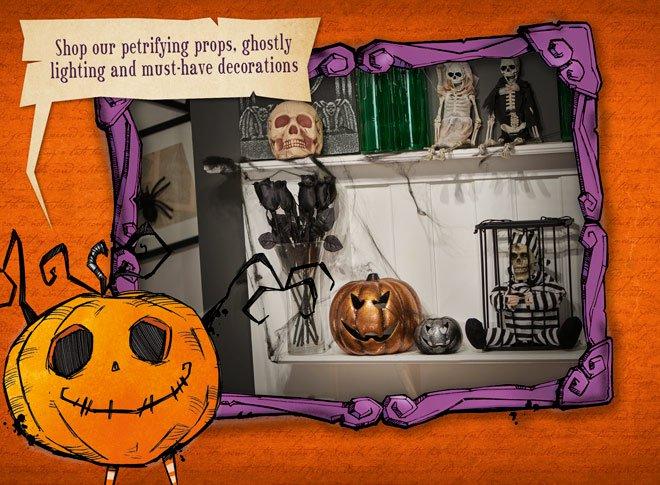 Halloween Shop Launched at Wilko - Skeleton Bride & Groom £3.00 /  Frightening Fur Balls Mask £7.00 / Treat Bucket 50p (more links in op)