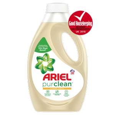 Ariel Purclean 30 washes washing liquid @ tesco £2.10 (7 pence per wash)