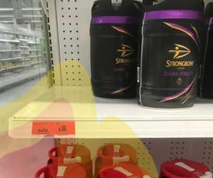 Strongbow dark fruits 5l keg £8 instore @ Sainsbury's (Hinckley)