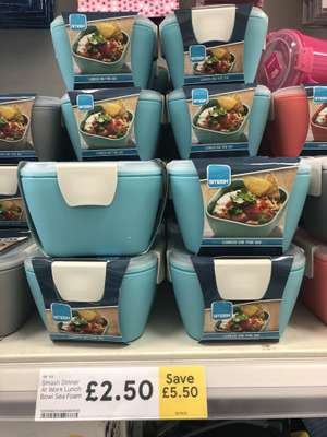 Smash Dinner at Work Lunch Bowl £2.50 @ Tesco Cheetham Hill