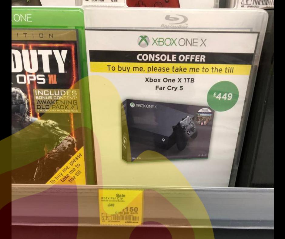 Xbox one X £150 @ ASDA instore (Carlisle)