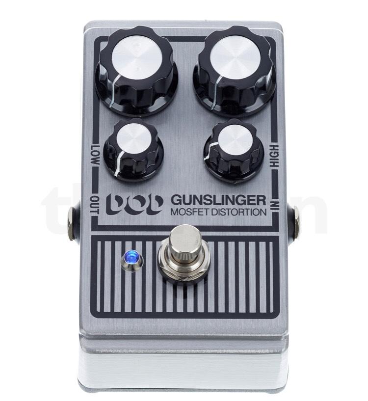 Digitech DOD Gunslinger Distortion Pedal @ Thomann - £36.08