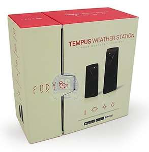 Fody Tempus Home Weather Station with Bluetooth Low Energy Technology £15.97 Prime / £20.96 Non Prime @ Amazon