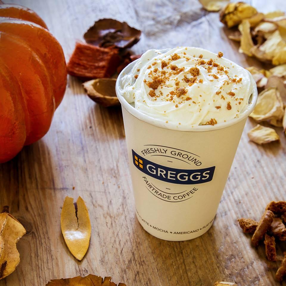 Free Pumpkin Spice Latte - Greggs Rewards