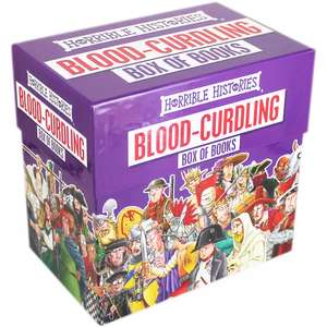 Horrible Histories Blood Curdling Book Box now £15 w/code + Free C&C at The Works