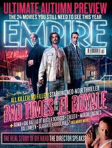 Empire Magazine (Print Edition) - 3 Issues for £5 (then £19 every 6 months) at 	Great Magazines