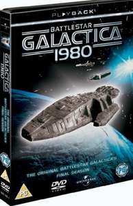 Battlestar Galactica 1980 : The Complete Series DVD set £3 @ Zoom