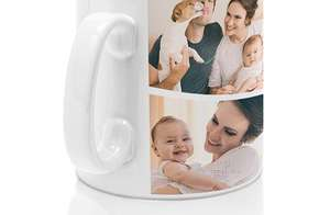 Gift Voucher for Personalised Photo Mug 325ml Was £6.95 Now £3.99 inc Mug Delivery @ PrinterPix