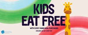 Free Kids Meal Deal (main, selected drink and dessert) with Adult Main Meal Purchase @ Giraffe Restaurants (more offers in post)
