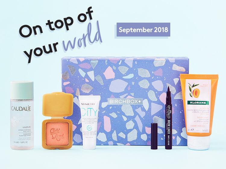 3 Birchbox Beauty Boxes for price of 1 (inc. Benefit blusher) £12.95 @birchbox