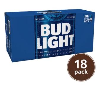 Bud Light 18 Pack £6.60 @ Tesco Sunderland