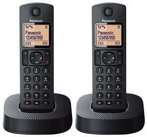 Panasonic KX-TGC312EB Digital Cordless Phone with Nuisance Call Blocker - Black, Pack of 2- Mymemory/Amazon- £24.99