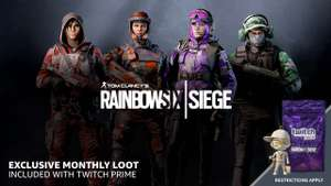[PS4/Xbox One/PC] Claim 16 Free Rainbow Six Siege Packs with Amazon Twitch Prime