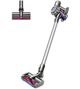 Dyson V6 Cord Free Cordless Vacuum Cleaner with up to 20 Minutes Run Time £179 W/Code (2 year guarantee inclusive) @ AO