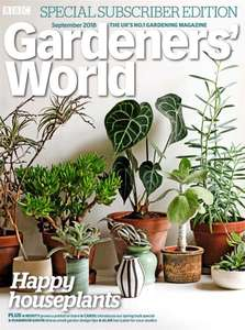 Gardeners' World - 5 copies delivered for £5 @ buysubscriptions