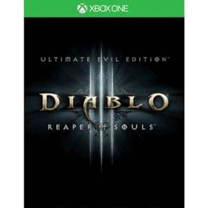 Xbox One DIABLO III: REAPER OF SOULS - ULTIMATE EVIL EDITION £13.95 (NEW) Free Delivery @ TGC