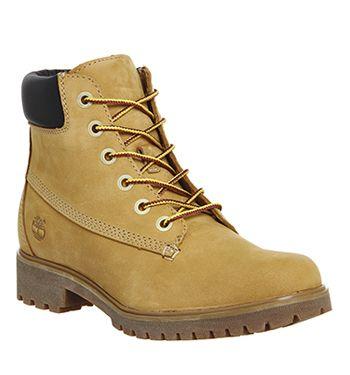 Timberland Slim Premium 6 Inch BootsWheat Nubuck £75 @ office - Free c&c