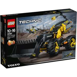 LEGO UK 42081 Volvo Concept Wheel Loader ZEUX Technic was £109.99 now £69.99 Del @ IWOOT (more in OP)