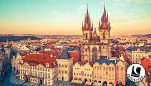 Prague, Czech Republic 2 Nights with 4* Hotel Stay & Flights from £59pp @ GoGroopie