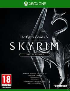 Xbox One Skyrim Special Edition (used) £12.50 @ Music magpie