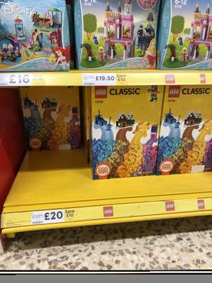 Save 1/3 off selected Lego including 900 piece box reduced to £20 @ Tesco - Hartlepool