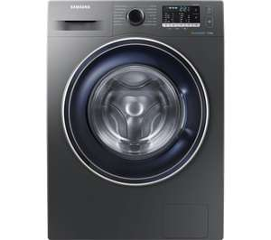 SAMSUNG ECOBUBBLE WW70J5555FX/EU 7 kg 1400 Spin Washing Machine - Graphite £341.40 w/code @ Currys