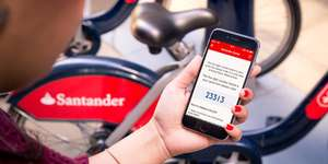 Free Santander Cycles for 24 Hour until issue resolved