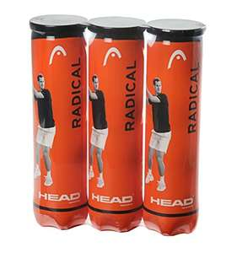 HEAD Radical Tennis Balls, Triple Pack (12 Balls) £8.99 Prime (£4.49 delivery) @ Amazon
